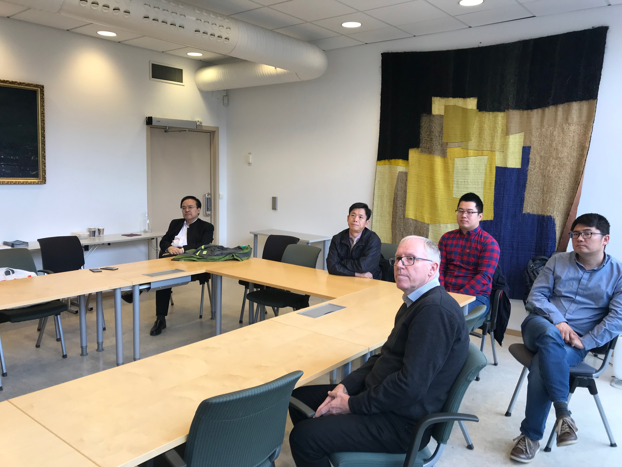 VISIT TO IGP FROM CHINA UNIVERSITY OF PETROLEUM BEIJING (CUPB)