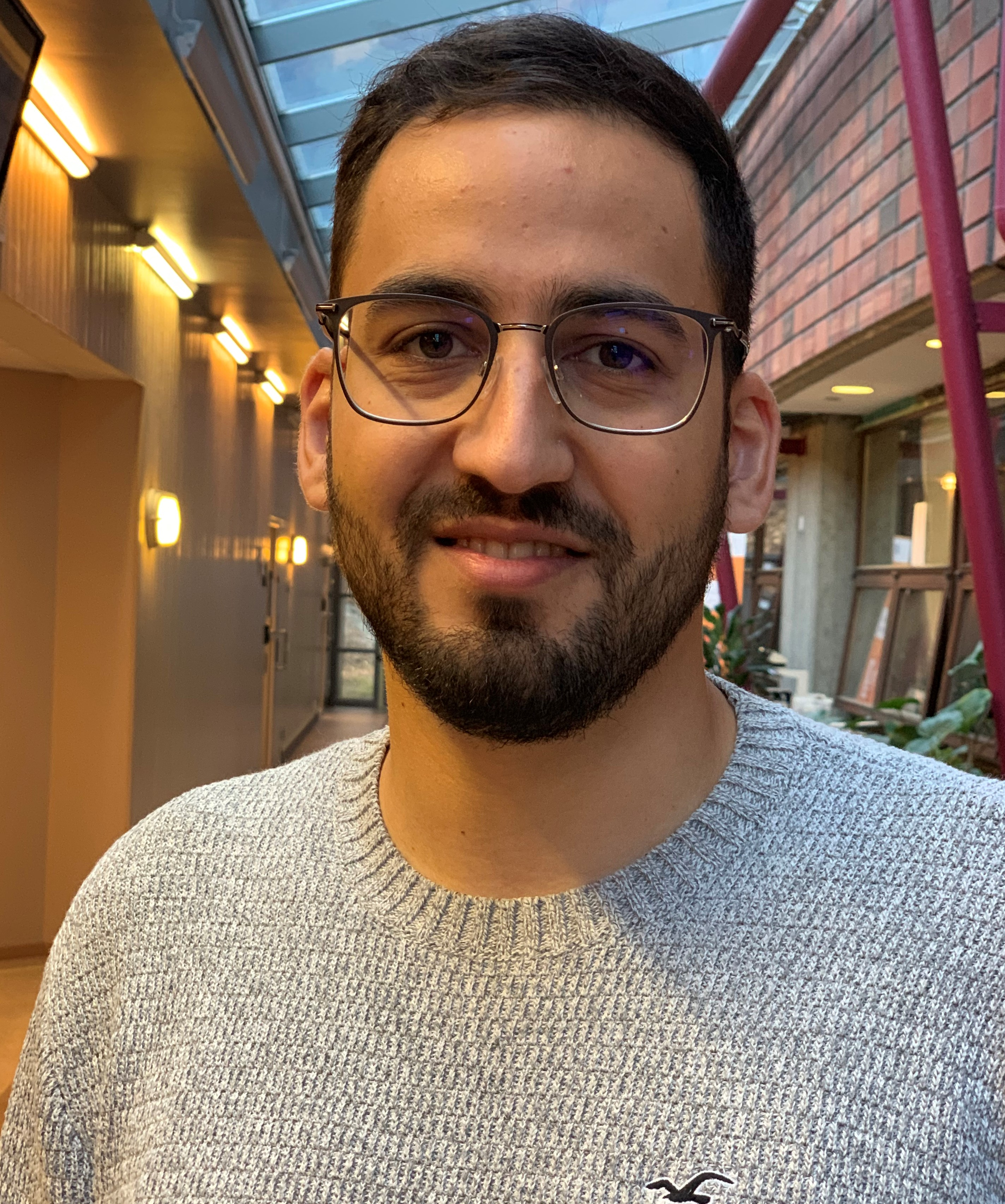 Ammar Ghanim has started as a PhD candidate at the Department